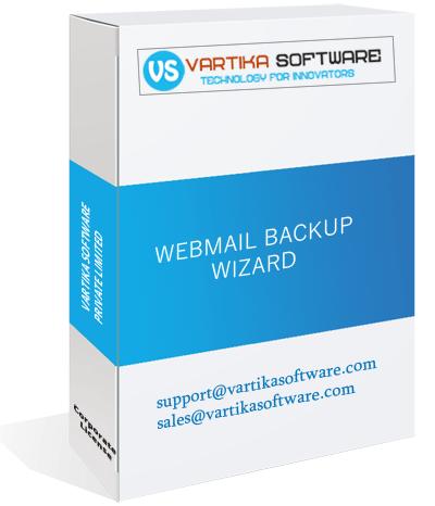 Vartika Webmail Backup Software