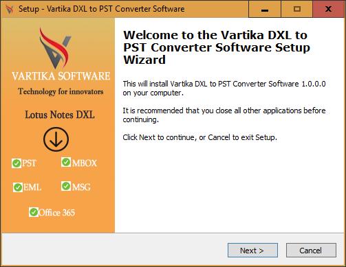Vartika DXL Converter Software