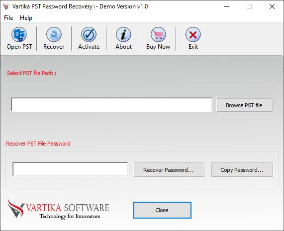 First Impression of PST Password Recovery
