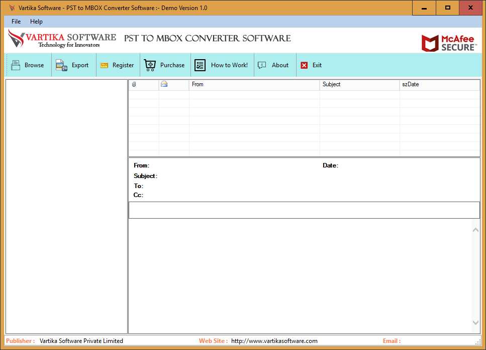 First Impression of PST to MBOX Conevter Software